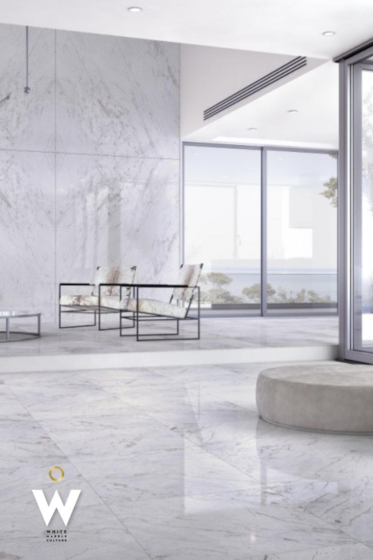 10+ Stunning White Marble Living Room