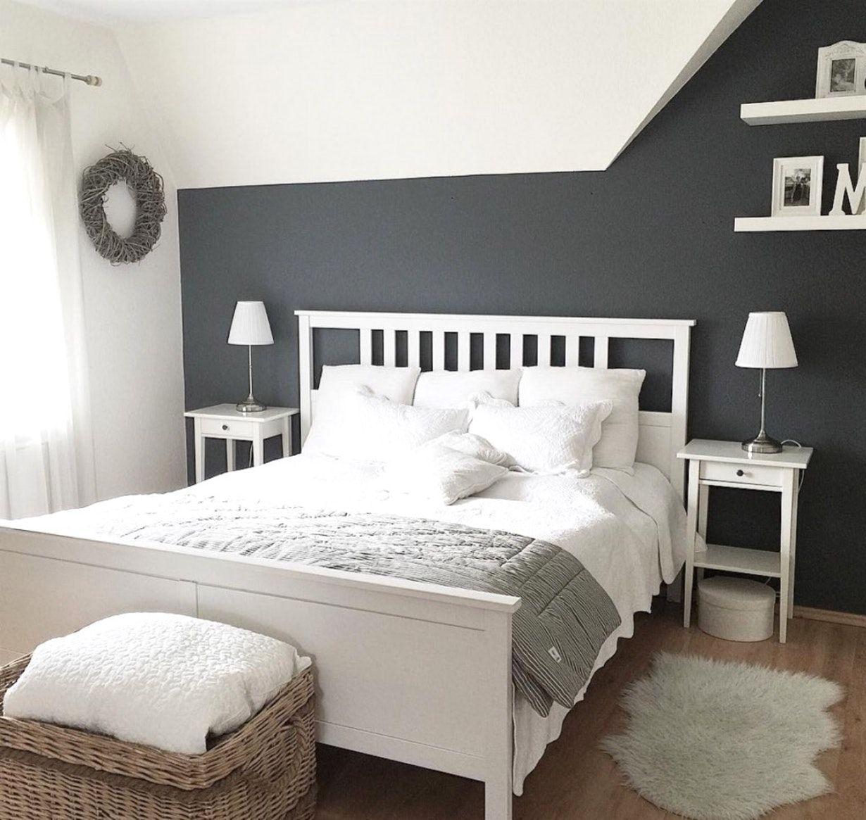 schlafzimmer gestalten grau weiß   Luxury bedroom ...