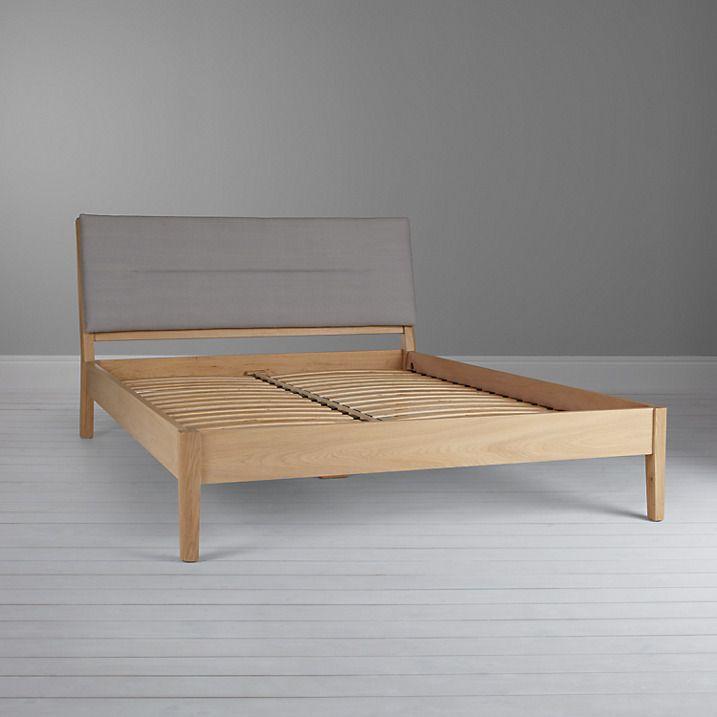 Buy Design Project By John Lewis No049 Bed Frame King Size Oak Grey Online At Johnlewis