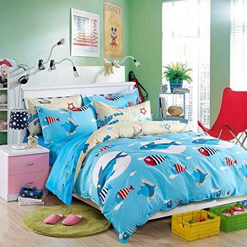 Robot Check Kids Bedding Sets Childrens Bedding Sets Bed