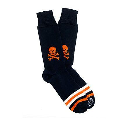 Corgi light pattern socks - J.Crew