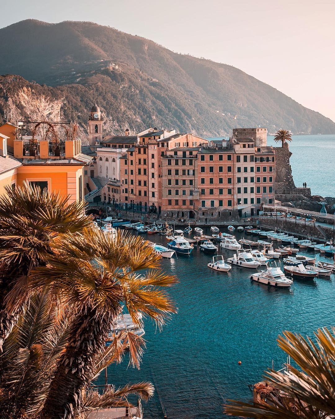 """Camogli, Italy @brigrc: """"I want to take a breath that's true. Point of view  Camogli [Liguria]"""""""