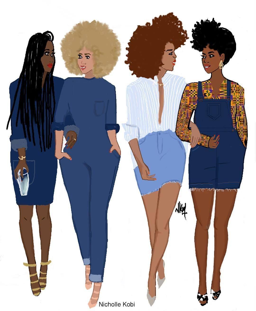 black gfs girls