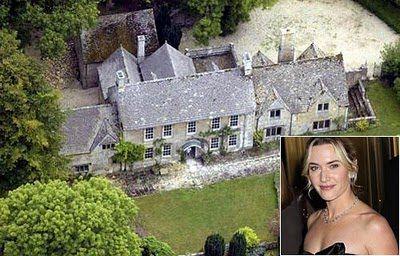 Kate Winslet England House Celebrity Houses Celebrity Mansions Mansions