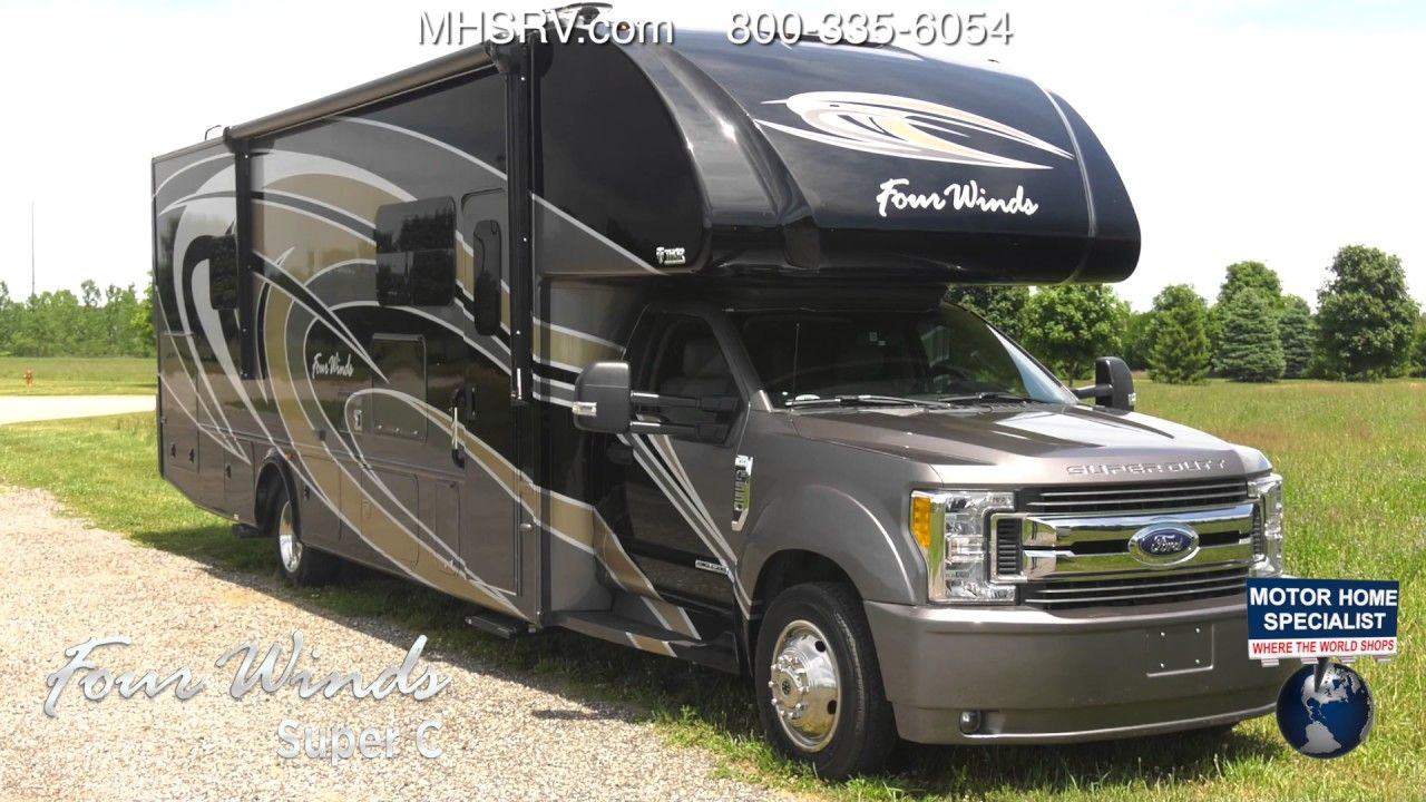 2018 Thor Motor Coach Four Winds Super C Rv For Sale At 1 Dealer