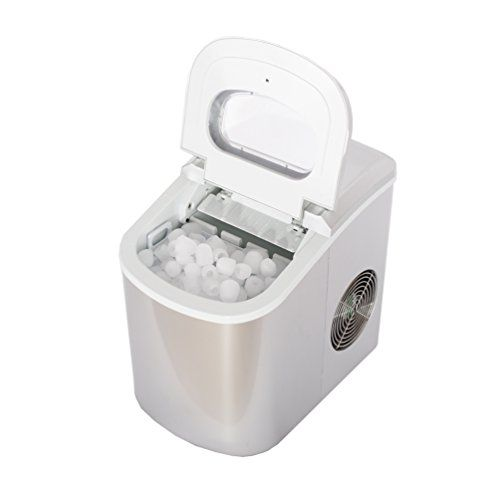 Smeta Portable Compact Ice Maker Machine Counter Top Produce 26lb