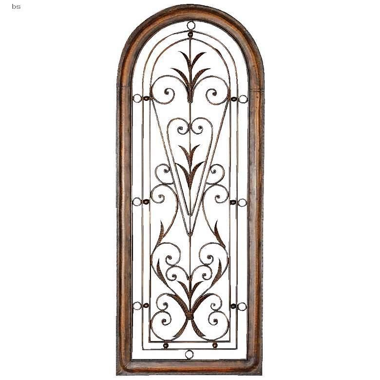 Wall Art Uttermost Petite Cristy 50 High Arched Metal Wall Art In 2020 Elegant Wall Art Leaf Wall Art Iron Wall Art