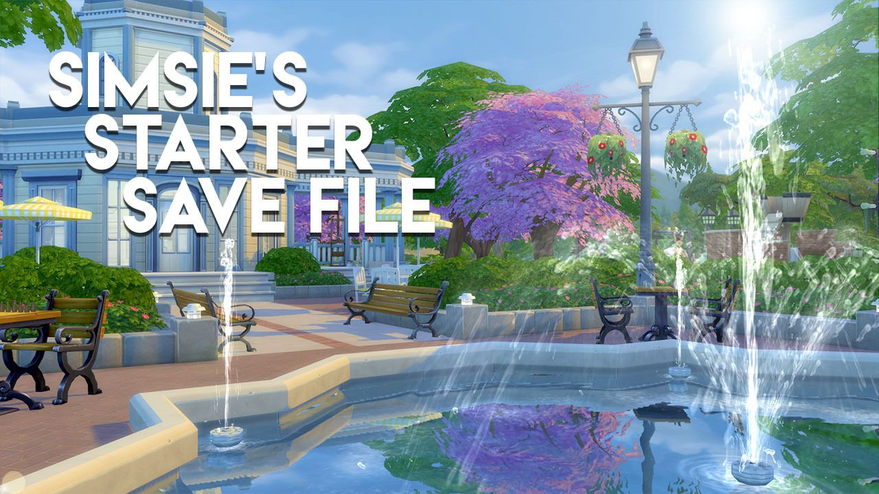 """lilsimsie: """" SIMSIE'S STARTER SAVE FILE DOWNLOAD I went in"""
