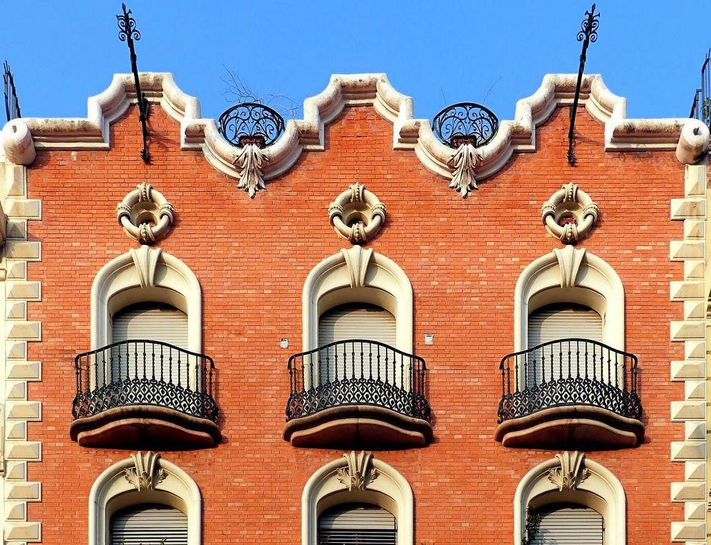 Casa Domènec Balet i Nadal  1906  Architect: Domènec Balet i Nadal
