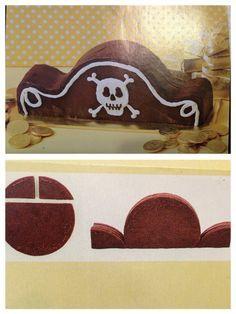 Piraten-Hut-Torte