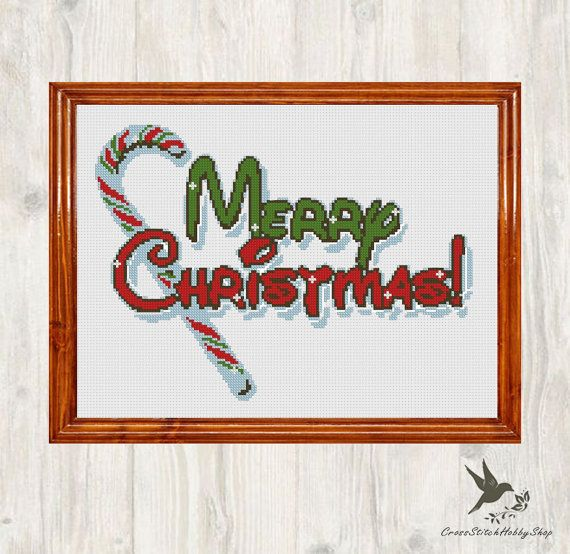 INSTANT DOWNLOAD Stitch Merry Christmas PDF Cross Stitch Pattern Needlecraft  -----------------------------------------------------  Pattern:  Fabric: 14 count Aida  Stitches: 145*106  Size: Width: 26.31cm Height 19.23cm  5 DMC Colors  Use 2 strands of thread for cross stitch 2 PDFs Included  1 x Pattern in Color Blocks 1 x Pattern in Color Symbols  -----------------------------------------------------  Instant Download Info: You will be emailed a link to the downloads via Etsy. Also, PDFs…