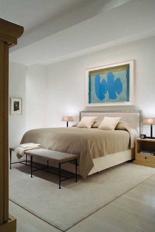 Einen Spritzer Blau, Türkis Und Warmen Blau Auf Dem  Künstlerisch Overhead Display Bringen Leben In Diesem Schlaf Induzieren  Master Schlafzimmer.