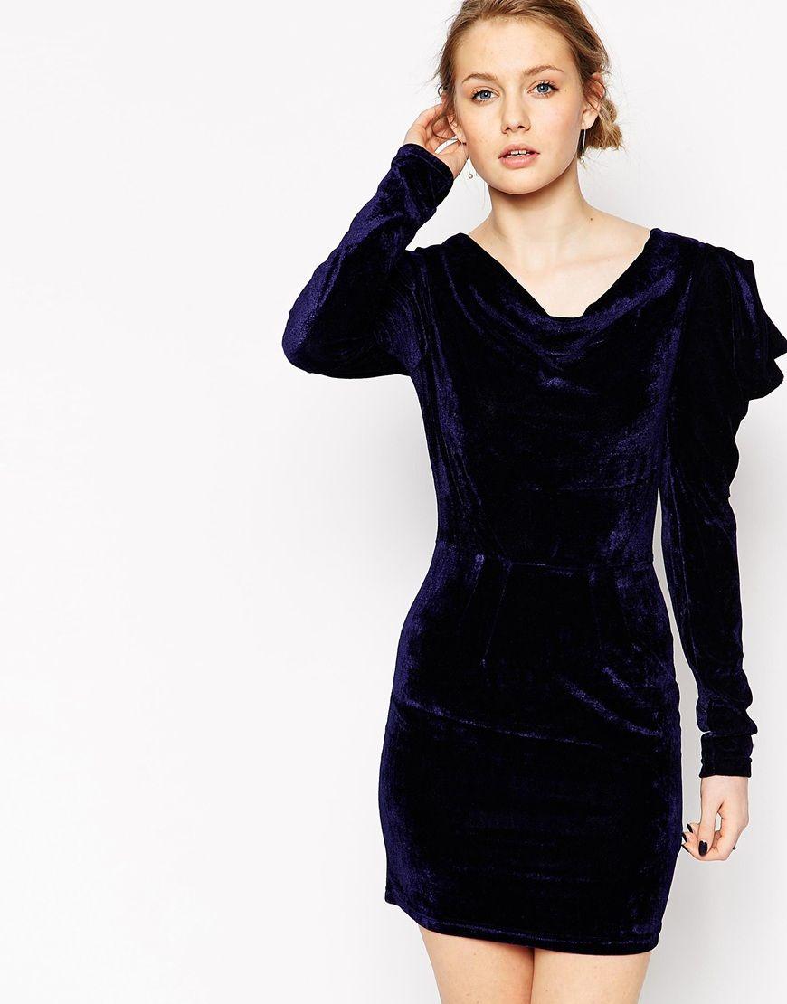 Frock and frill velvet dress fashion inspiration pinterest