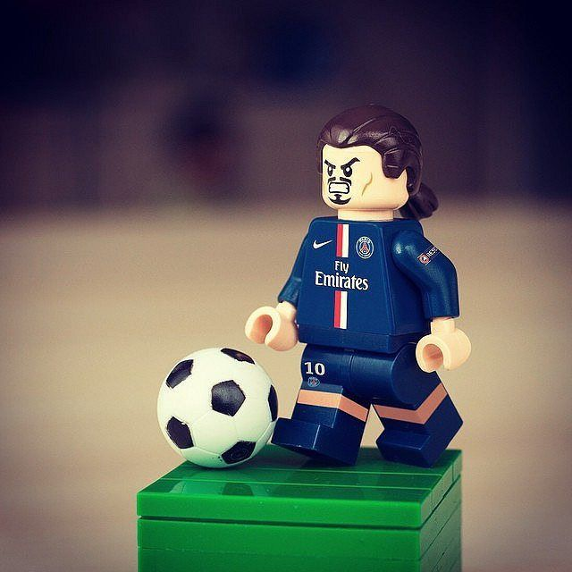 LEGO Custom UV Printed FC Barcelona Soccer Player Lionel Messi 2019 Minifig