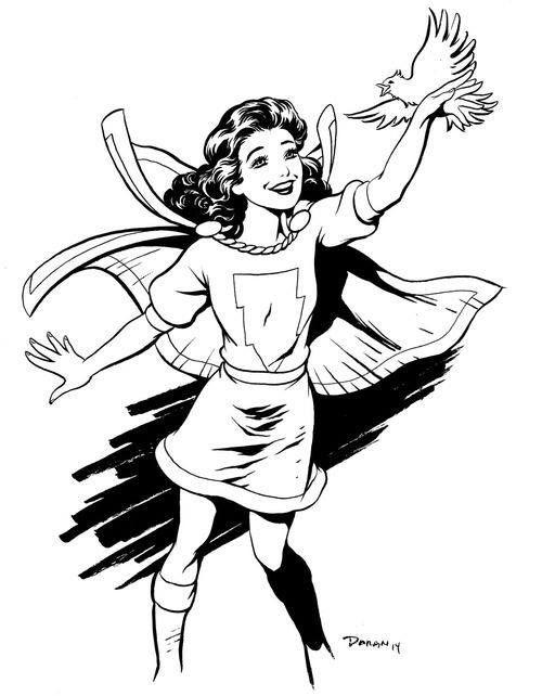 Mary Marvel by Colleen Doran #ColleenDoran #MaryMarvel #
