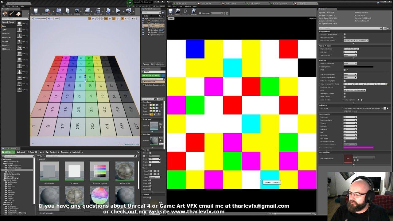 Breaking Up Tiling Materials In Ue4