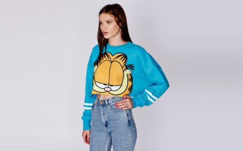 Lazy Oaf x Garfield