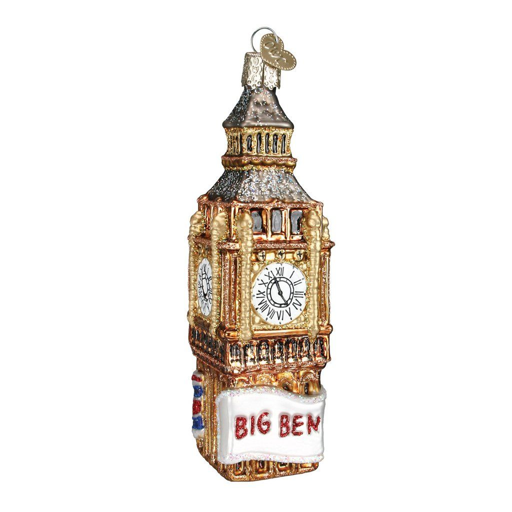 dd09f1403679 Did you travel to London for the Royal Wedding? Remember your London trip  with our Big Ben Ornament!
