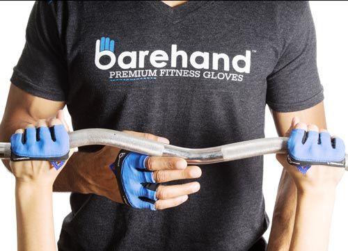 Barehand Build Better Grip Minimalist Gloves Workout
