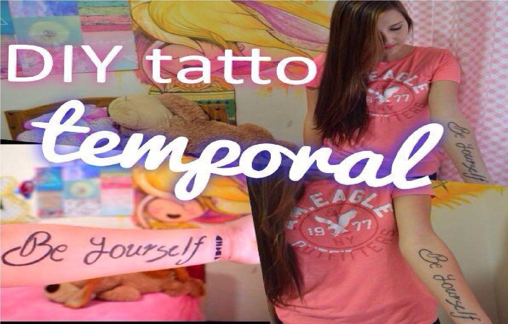 Como Hacer Tatuajes Temporales En 5 Minutos Sin Henna O Plumon