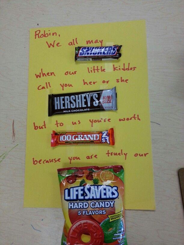 Teacher/school nurse appreciation day gift/card | Classroom Ideas ...