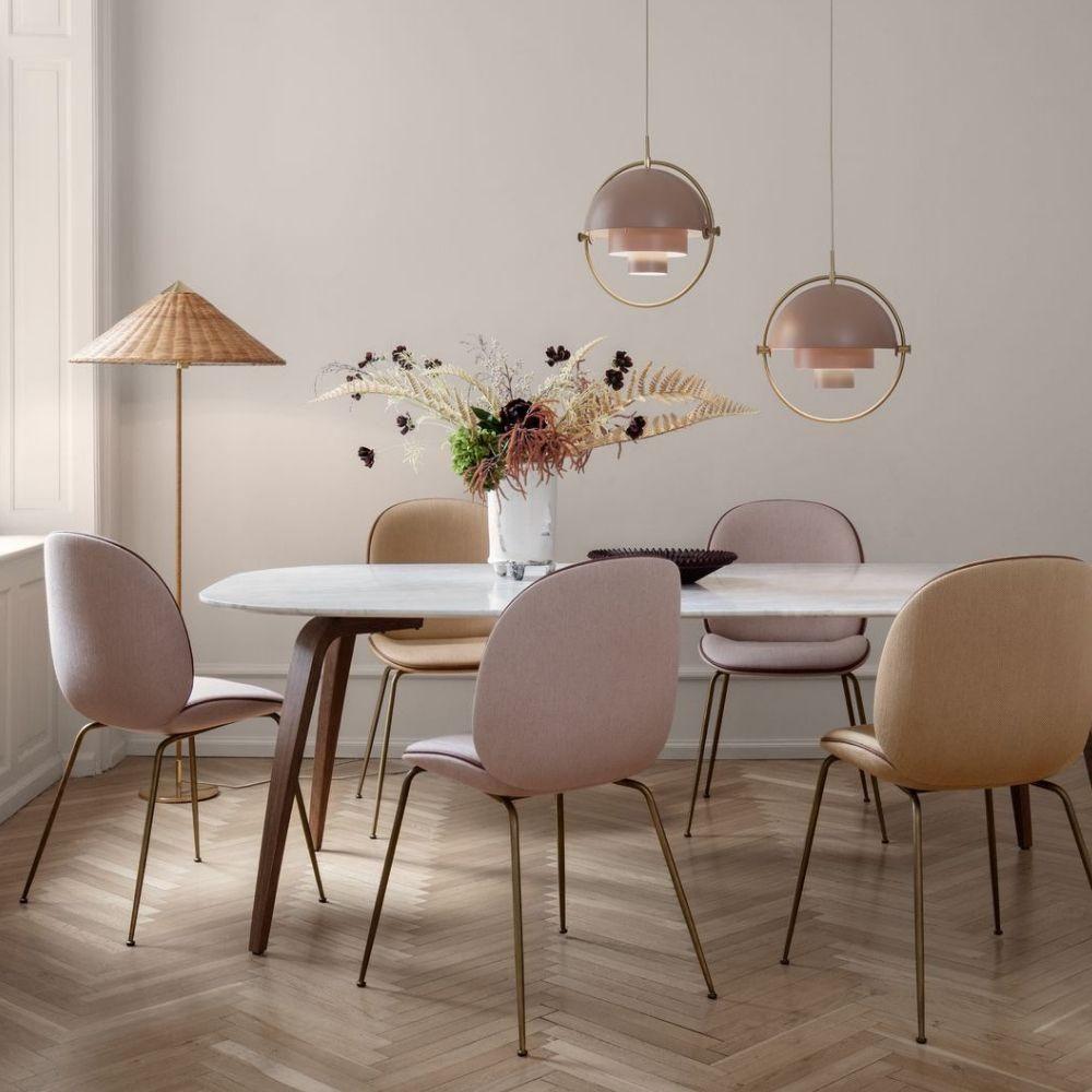 Gubi Paavo Tynell 9602 Floor Lamp Gubi Dining Table Gubi Beetle