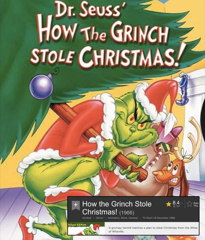 17 Popular Christmas Movies Ranked Worst To Best According To Imdb Ratings Popular Christmas Movies Best Christmas Movies Grinch Stole Christmas