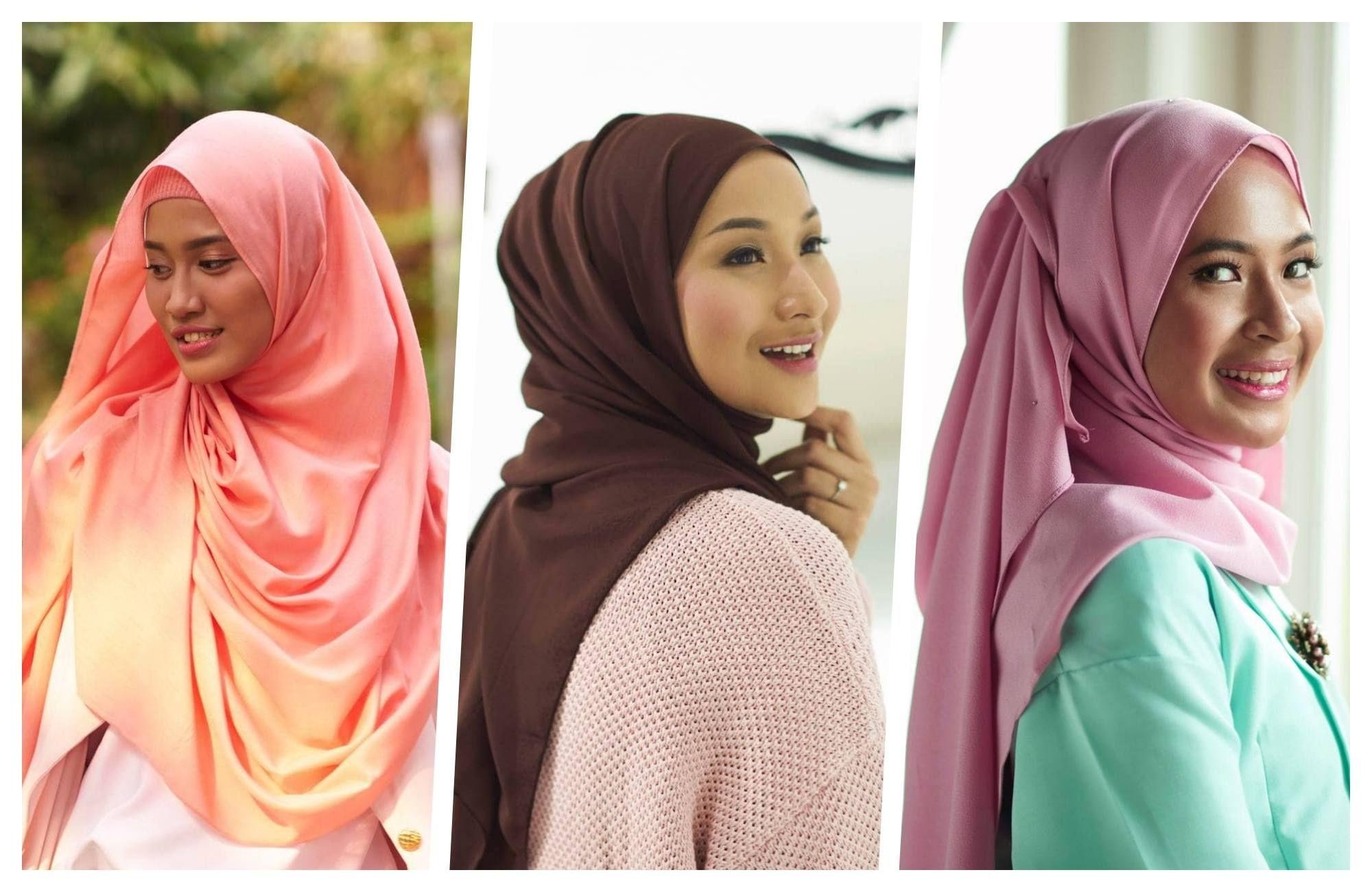 Tutorial Hijab Segi Empat Kepang Kursus Hijab Hijab Kepang
