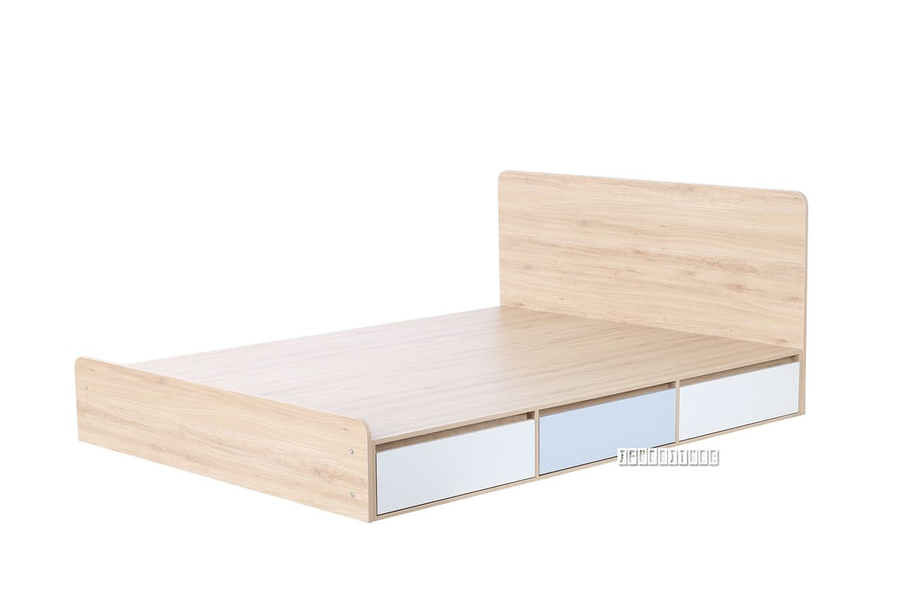 RENO Queen Size Bed with 6 Drawers , Bedroom, NZ's Largest ...