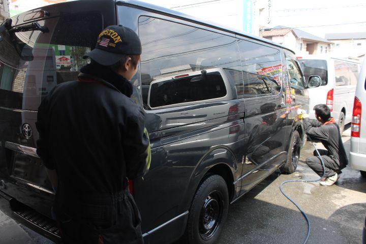 安心の納車前整備 福岡のハイエース専門店プレステージ 福岡 ハイエース プレステージ