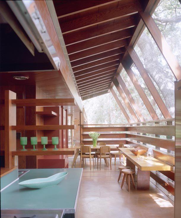 Modern Homes Los Angeles California: Schaffer Residence. 1949. Glendale, Los Angeles