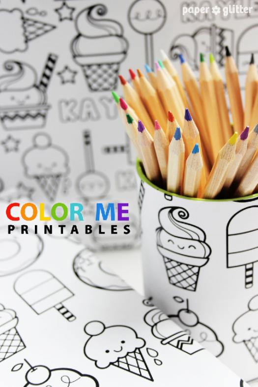 Super Cute Free Printable Coloring Sheets