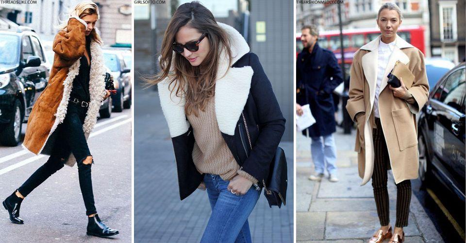 The Best Sheepskin Coats To Invest In | Sheepskin coat, Fashion ...