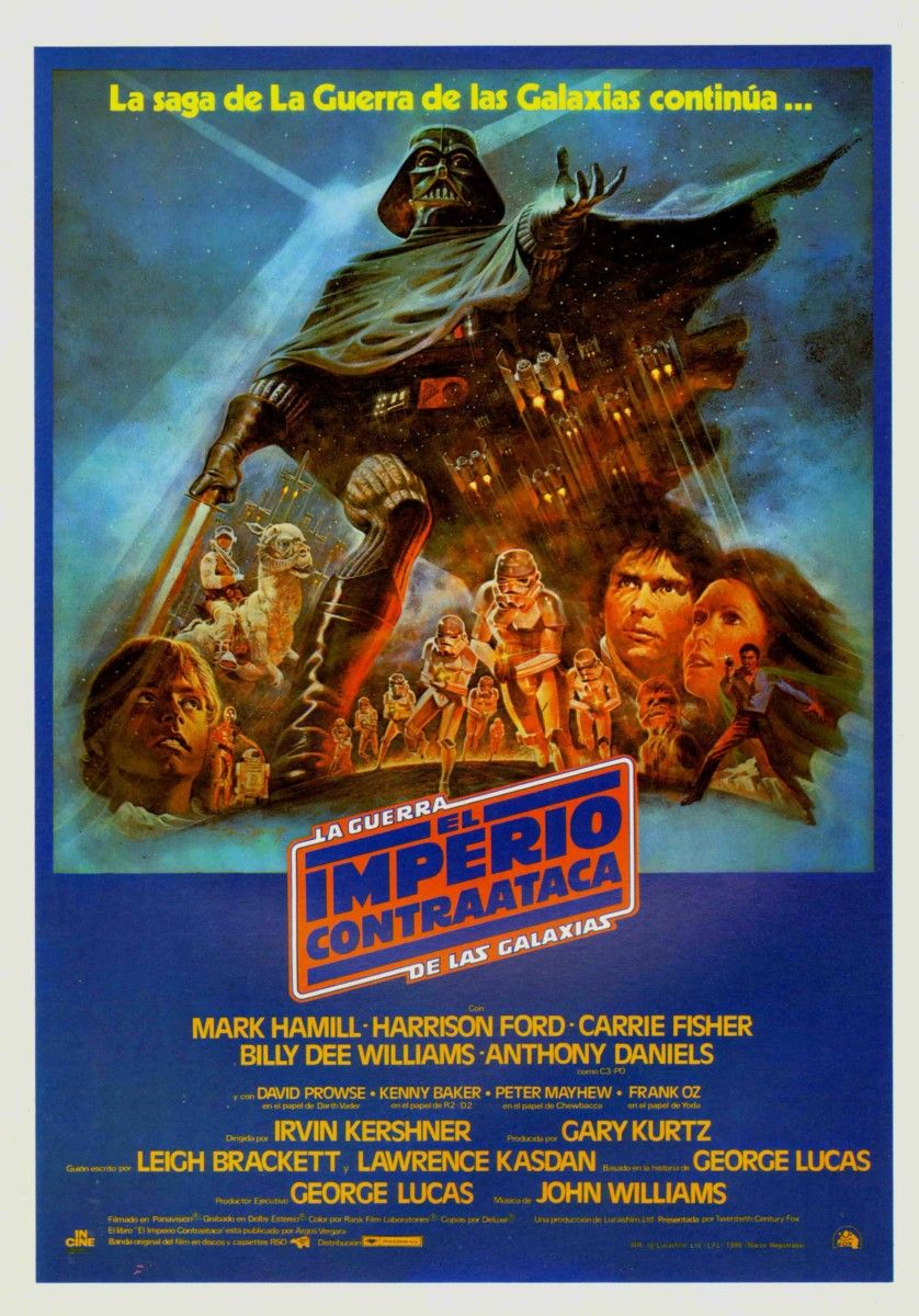 (1980) Star Wars. Episodio V -El imperio contrataca