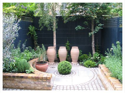 Court Yards West London Garden Design Mediterranean Courtyard Small Courtyard Gardens Courtyard Design Outdoor Gardens Design