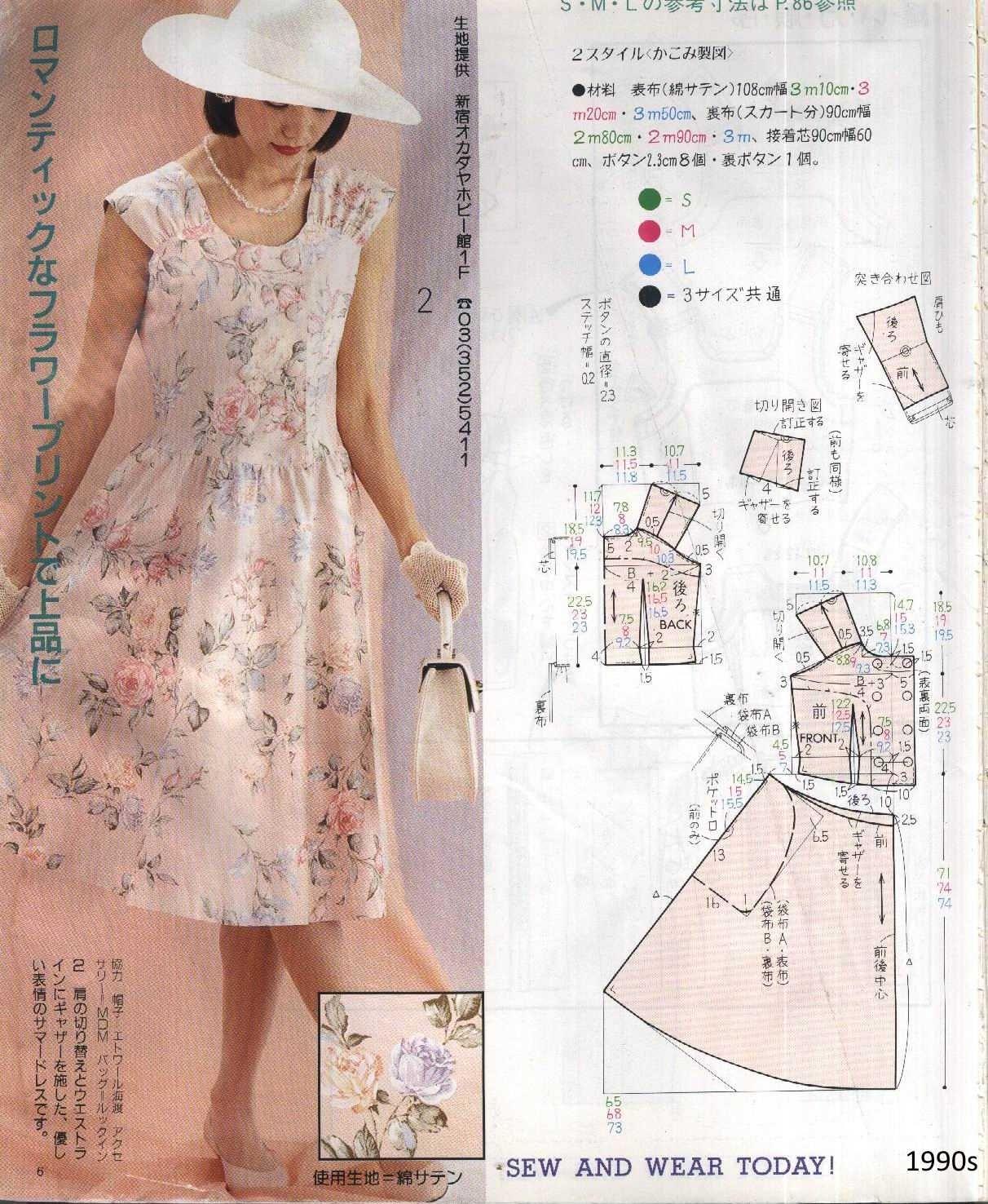Pin de ies en Pattern: dresses | Крой: платье | Pinterest | Patrones ...