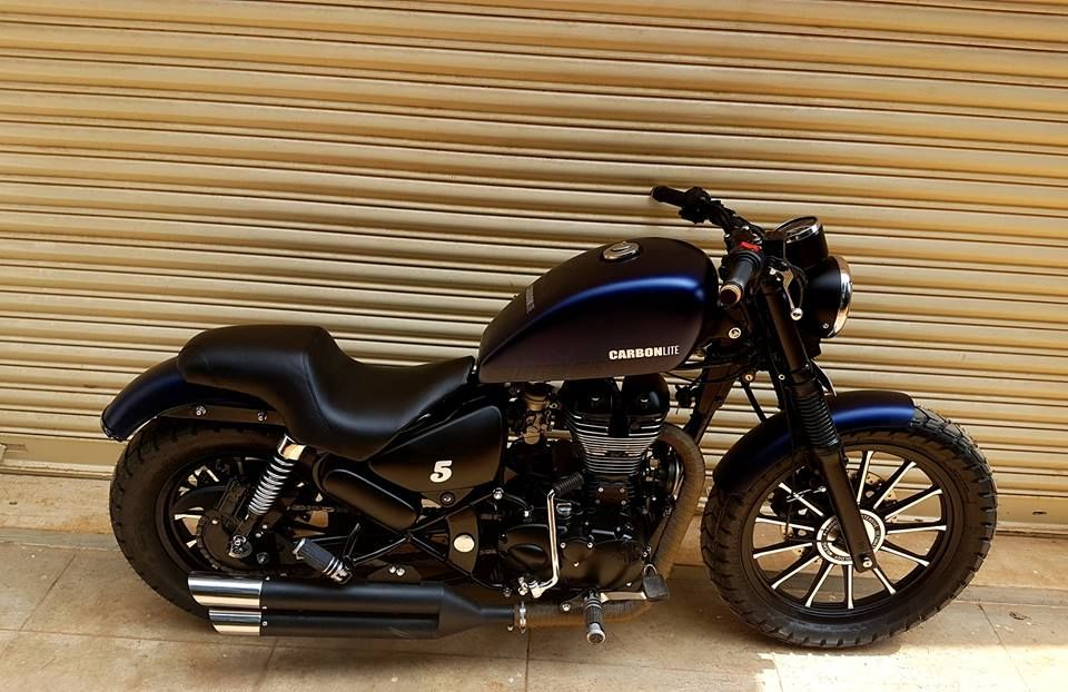 Royal Enfield Modified CARBON SS LITE BULLETEER CUSTOMS