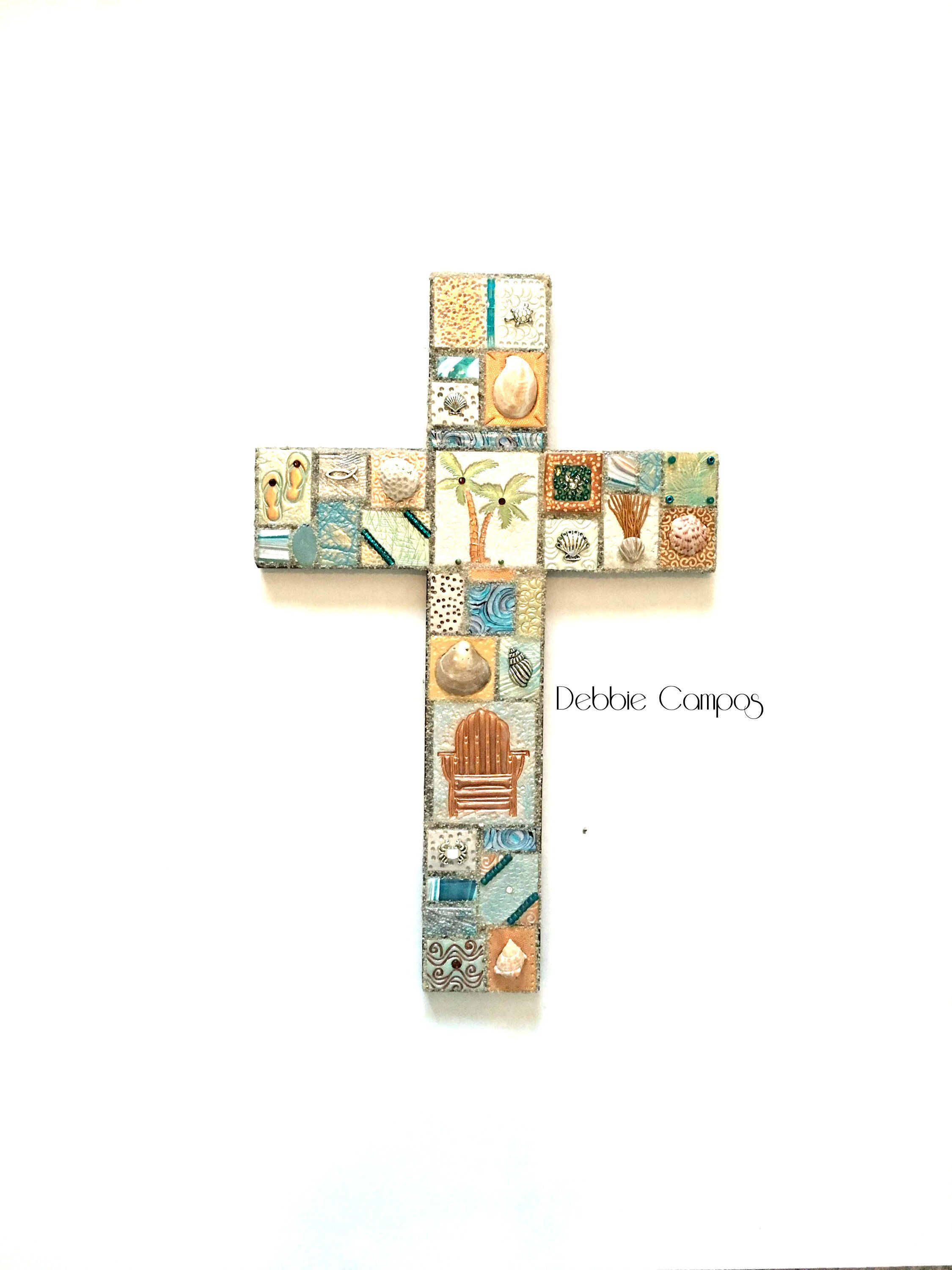 Wood Cross Wall Hanging Decorative Crosses Coastal Nautical Home Decor Religious Jpg 2250x3000