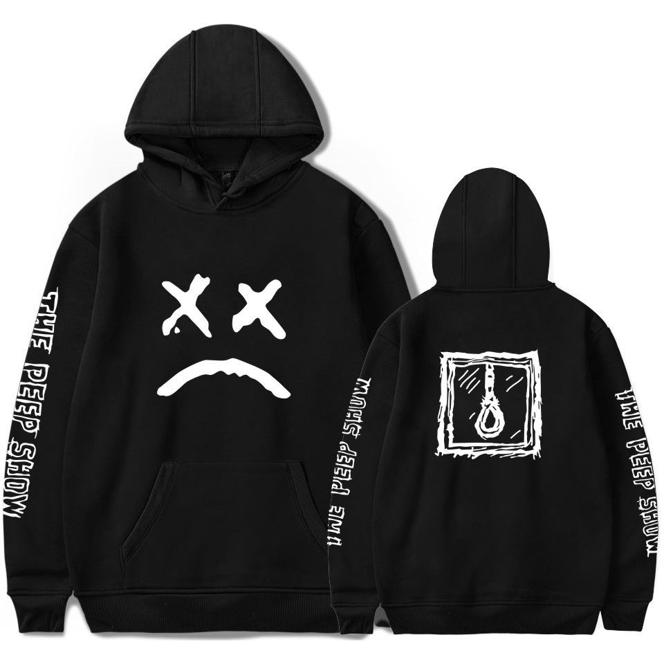296844d888f761 Lil peep funny hoodies 2018 lil peep printed sweatshirts plus sizes for men  casual fleece streetwear hoodies cry baby lil peep