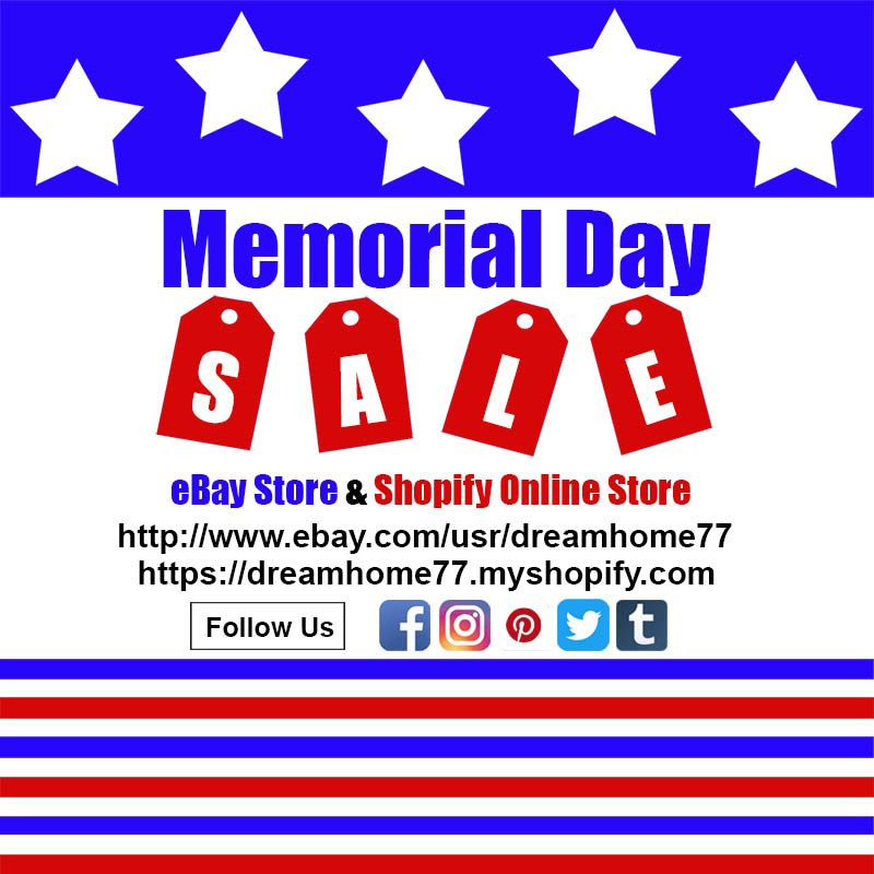 Memorial Day Sale at eBay Store & Shopifyhttp://www.ebay.com/usr ...