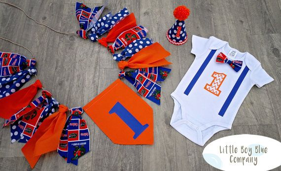 e6f2370cf81 Baby Boy First Birthday Outfit -