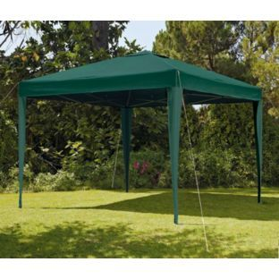 Buy Argos Home 3m x 3m Pop up Garden Gazebo - Green ...