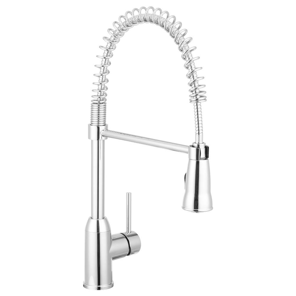 Dura Faucet Rv Single Handle Pull Down Sprayer Kitchen Faucet In