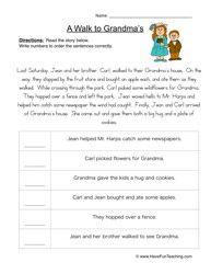 Order of Events Worksheet 1 | Worksheets, Executive functioning ...