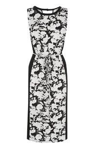 Meadow Print Midi Dress