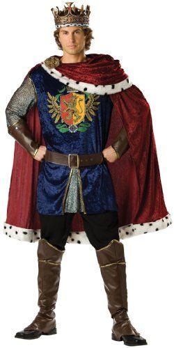Adult Royal Storybook King Renaissance Medieval Costume