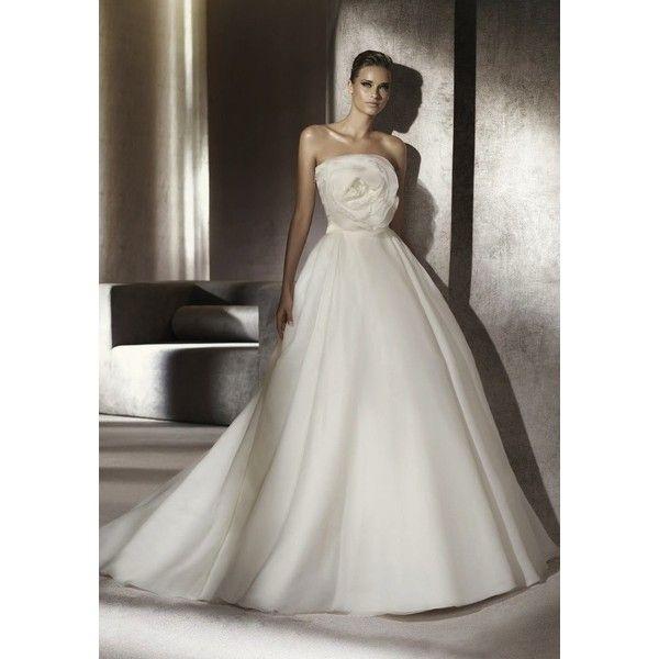 Manuel Mota / Strapless Neckline Princess Ball Gown, Dress - Hong ...