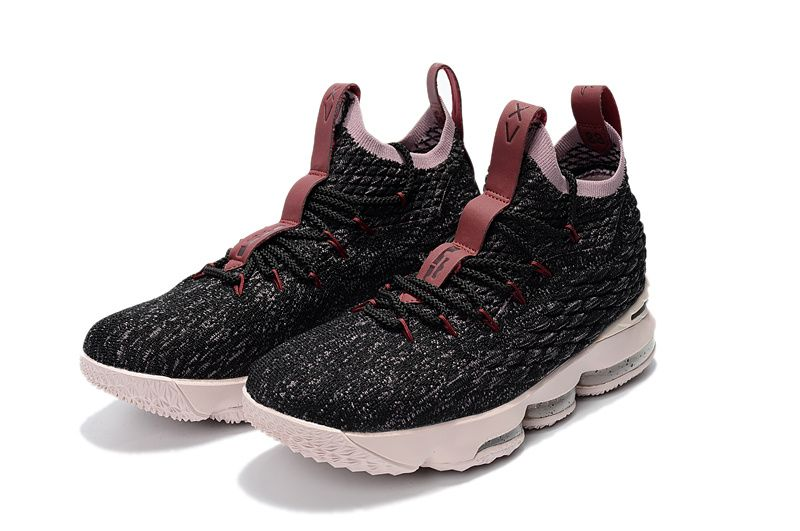 online store 70e1a 3193a Official Cheap LeBron Shoes 2018 Lebron 15 XV Cavs Grey Pink