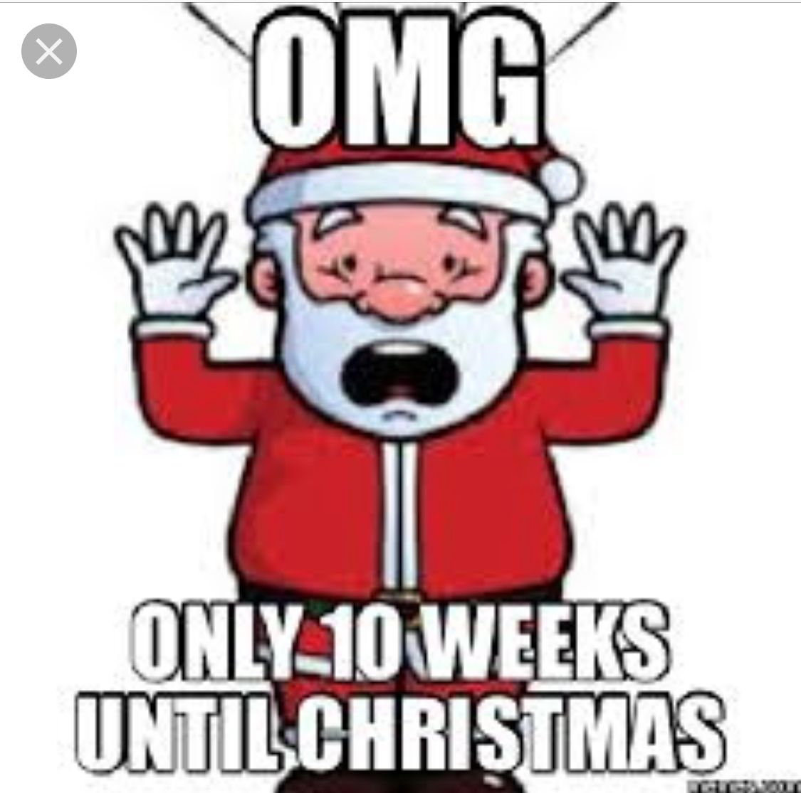 Until Christmas 10 Weeks Till Christmas.Santas Workshop Be The Envy Of All Your Friends With Our