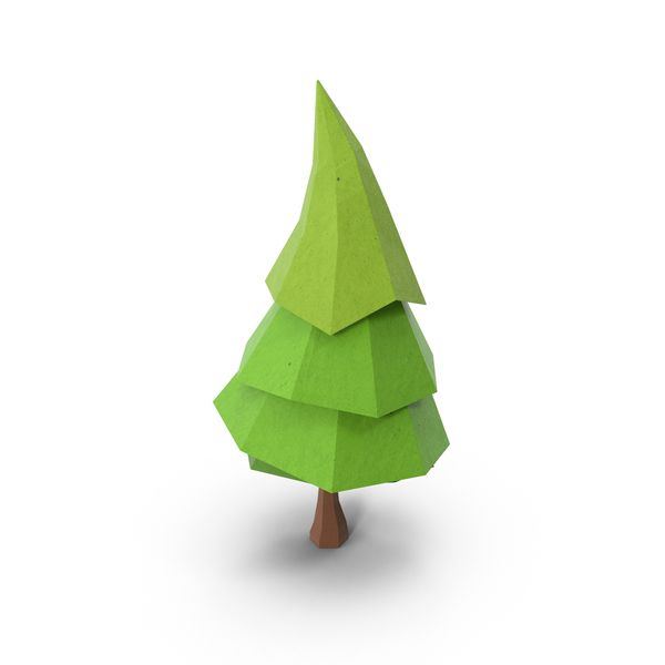 Low Poly Pine Tree Object Low Poly Art Low Poly Low Poly Character